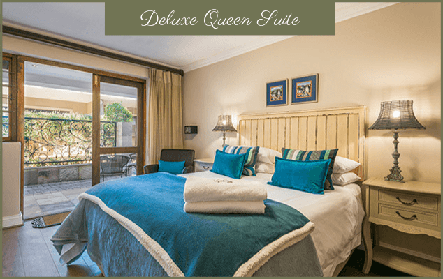 Deluxe Queen Suite - Guesthouse In George - Bed And Breakfast Accommodation