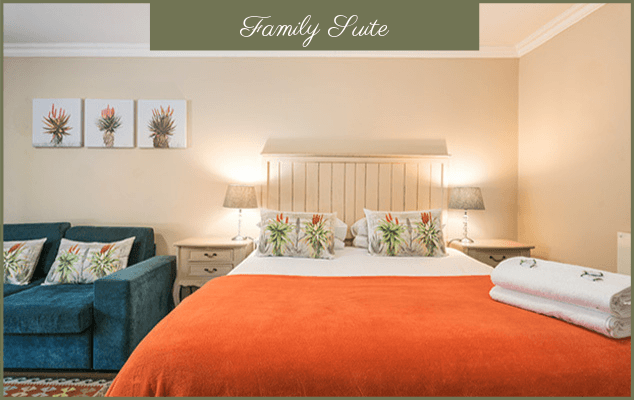 Family Suite - Guesthouse In George - Bed & Breakfast Accommodation